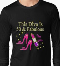DAZZLING AND FABULOUS 50 YEAR OLD Long Sleeve T Shirt