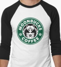 Moonbucks Coffee Men's Baseball ¾ T-Shirt