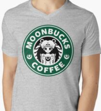 Moonbucks Coffee Men's V-Neck T-Shirt
