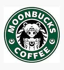 Moonbucks Coffee Photographic Print