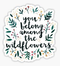 Among the Wildflowers Sticker