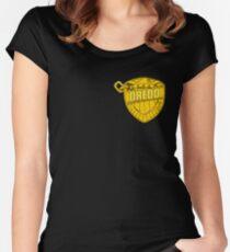 DREDD Women's Fitted Scoop T-Shirt