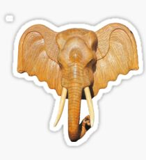Thai Elephant tee Sticker