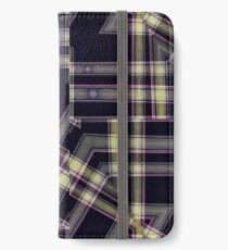Modern Abstract Geometric  iPhone Wallet