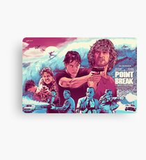 POINT BREAK Canvas Print