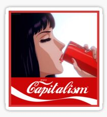 ~enjoy capitalism~ Sticker