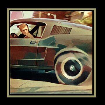 Bullitt Steve McQueen Mustang by BiTurbo228