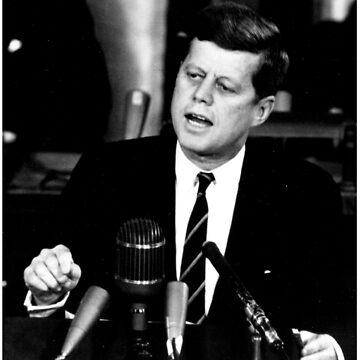 John F Kennedy USA President  by ozziwar