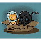 Kitten and Alien by beckadoodles