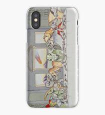 Dinosaur Last Supper iPhone Case/Skin