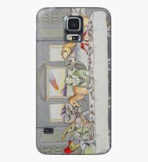 Dinosaur Last Supper Case/Skin for Samsung Galaxy