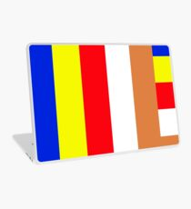 Buddhism Flag Laptop Skin