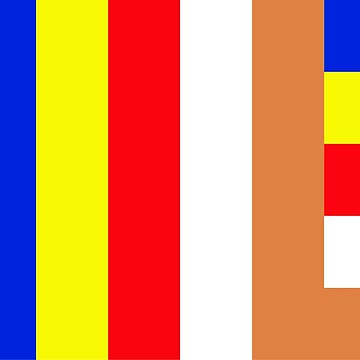 Buddhism Flag by AravindTeki
