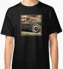 Bullitt Steve McQueen Mustang T-shirt classique