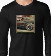 Bullitt Steve McQueen Mustang Long Sleeve T-Shirt