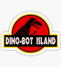 Dino-Bot Island Sticker