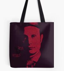 The Devil is in the details Tote Bag