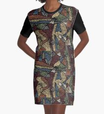 A Speck in Time Graphic T-Shirt Dress