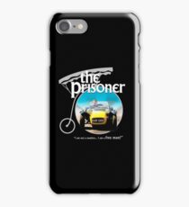 the prisoner  (i'm not a number i am a free man) iPhone Case/Skin