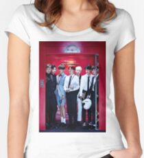 BTS GROUP - DOPE Women's Fitted Scoop T-Shirt