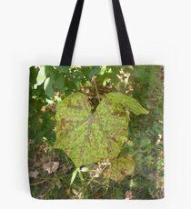 leaves sence Tote Bag
