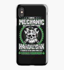 IM A MECHANIC iPhone Case