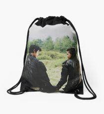 the 100 | Bellamy and Octavia Blake 1 Drawstring Bag