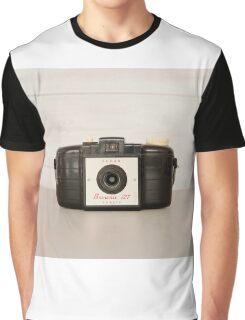 Vintage Brownie 127 Camera Graphic T-Shirt