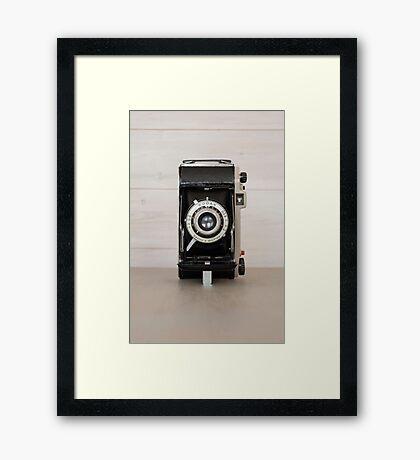 Vintage Kodak 620 camera Framed Print