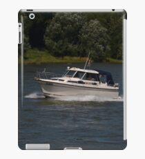 Small Cabin Cruiser iPad Case/Skin