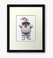 trump busters Framed Print