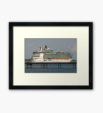 Independence on the Pier? Framed Print