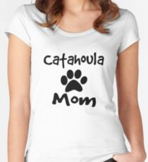 Catahoula Mom Women's Fitted Scoop T-Shirt