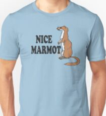 The Big Lebowski Quote - Nice Marmot Unisex T-Shirt