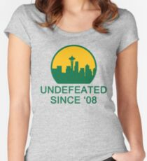 Undefeated Women's Fitted Scoop T-Shirt