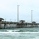 Outer Banks Fishing Pier by WeeZie