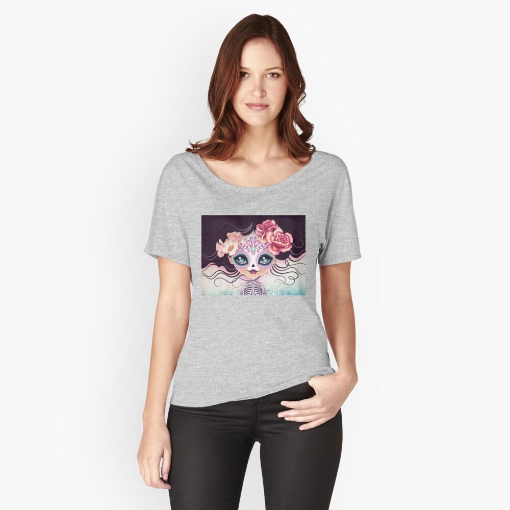 Camila Huesitos - Sugar Skull Relaxed Fit T-Shirt