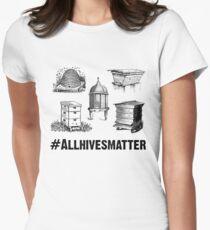 Beekeeper T-Shirt All Hives Matter Women's Fitted T-Shirt