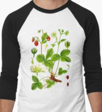 alpine strawberry Men's Baseball ¾ T-Shirt