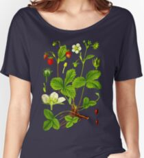 alpine strawberry Women's Relaxed Fit T-Shirt