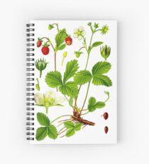 alpine strawberry Spiral Notebook