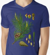 pine Men's V-Neck T-Shirt