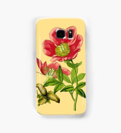 wild peony Samsung Galaxy Case/Skin