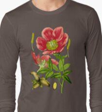 wild peony Long Sleeve T-Shirt