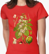 chestnut Womens Fitted T-Shirt