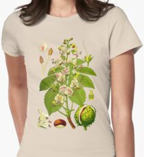 chestnut Women's Fitted T-Shirt