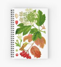 guelder rose Spiral Notebook