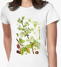 sour cherry Womens Fitted T-Shirt