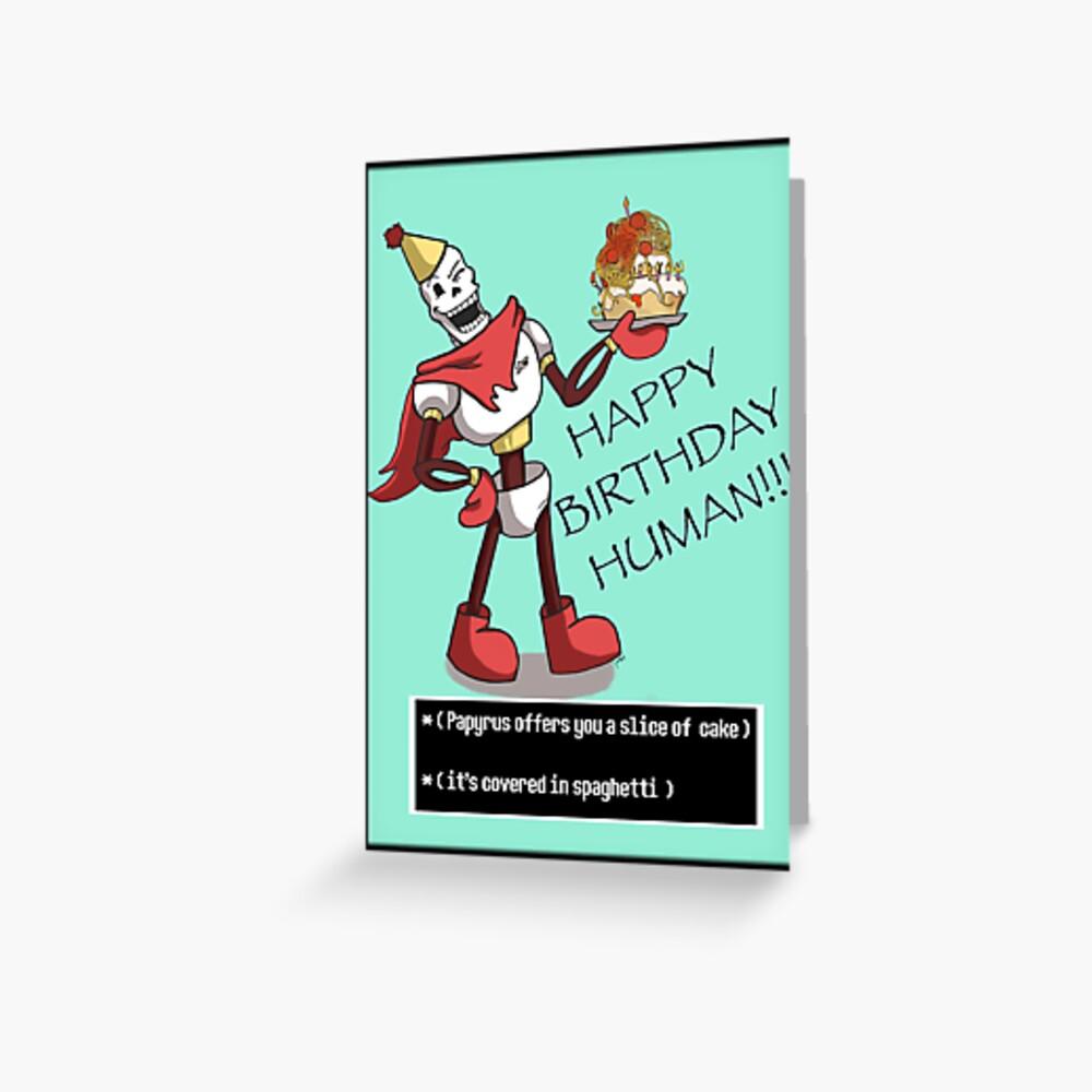 Papyrus Happy Birthday Greeting Card
