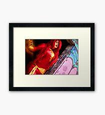 Dark Phoenix 2 Framed Print